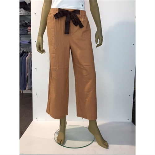 15178161 pantalone largo in lino donna only