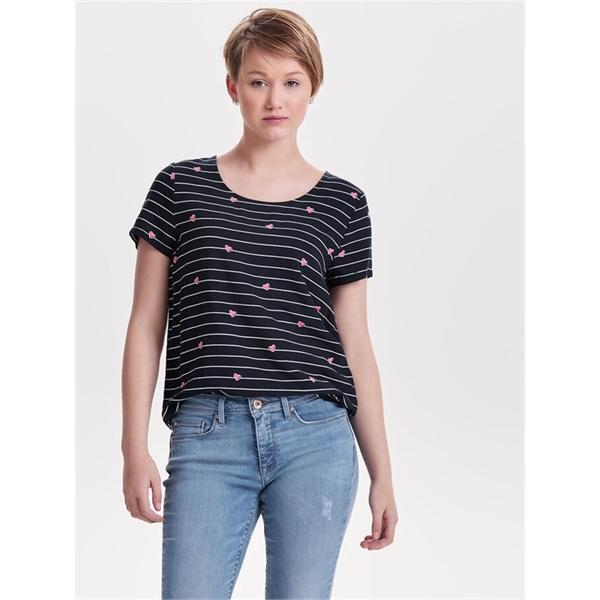 15138761 maglietta donna mezza manica only