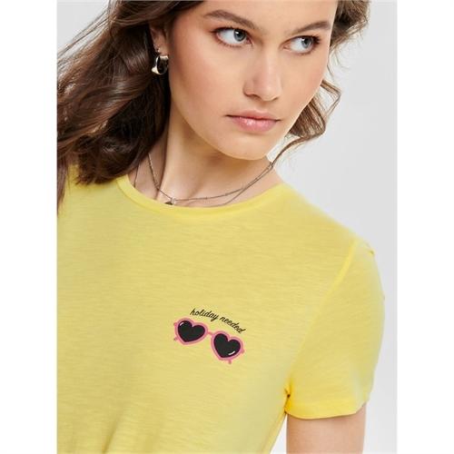 15179531 t-shirt donna con nodo only 10
