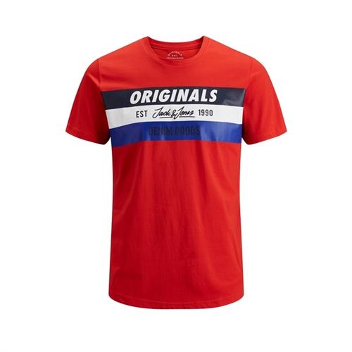 12147691 maglietta mezza manica uomo jack jones