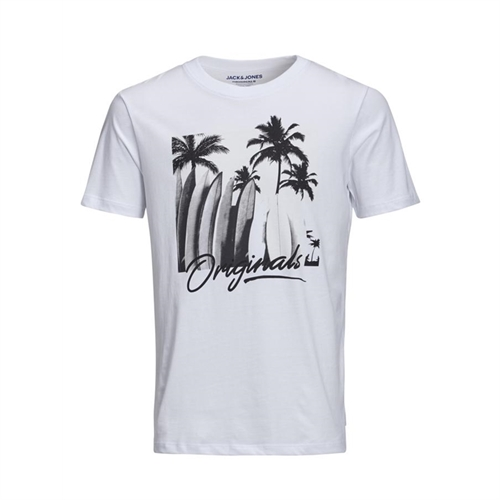 12152868 T-shirt mezza manica uomo UV Print jack jones