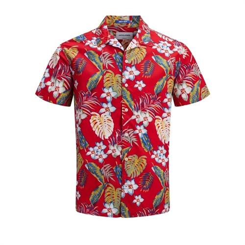 12152596 camicia mezza manica hawaiana jack & Jones 5