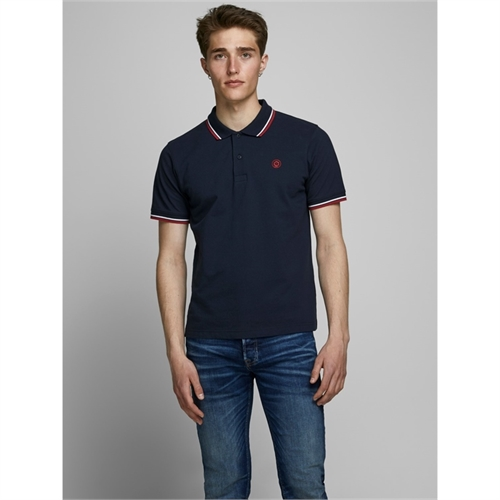 12165254 polo mezza manica uomo jack jones