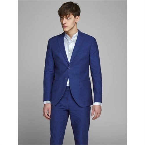12151689 blazer uomo di lino