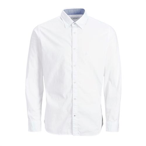 12173241 slim fiti in popeline camicia