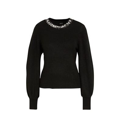 15210667 pullover maglia donna only nero