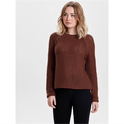 15140089 maglione pullover donna only brown