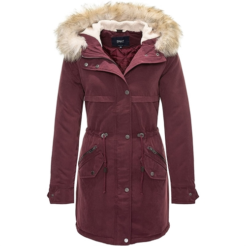 15136077 parka donna only lungo