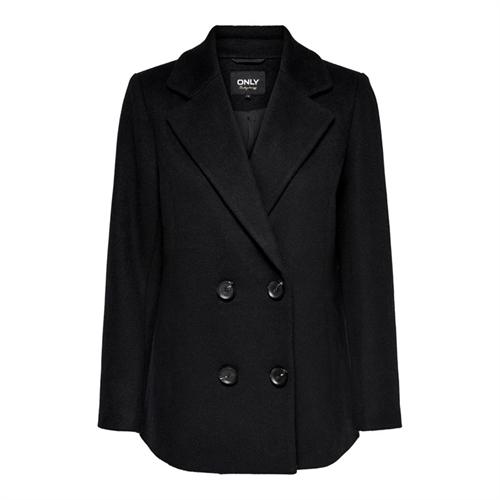 Only cappotto doppio petto donna wool coat