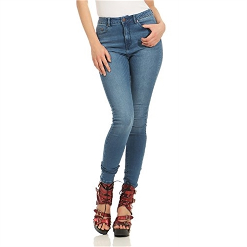 15133996 jeans only vita alta