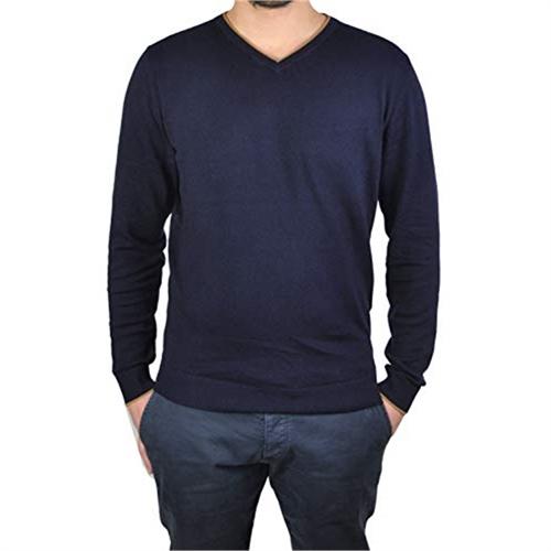 pullover uomo viscosa collo V jack Jones