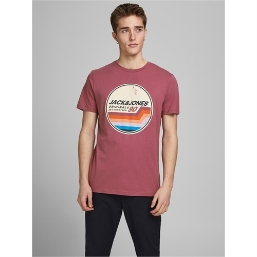 JACK&JONES 12186212 t-shirt uomo porpora 5