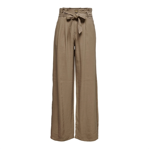 ONLY pantalone donna palazzo 15222194 brown