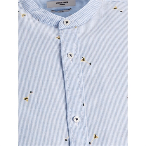 12187592 Camicia uomo in lino coreana Jack Jones 4