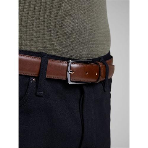 12136795 marrone cintura uomo elegante jack jones