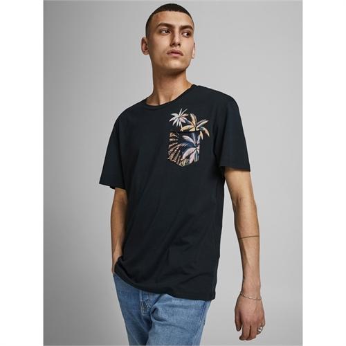 JACK&JONES T-shirt uomo con taschino 12189244_3