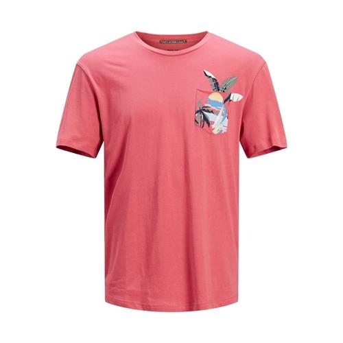 JACK&JONES T-shirt uomo con taschino 12189244