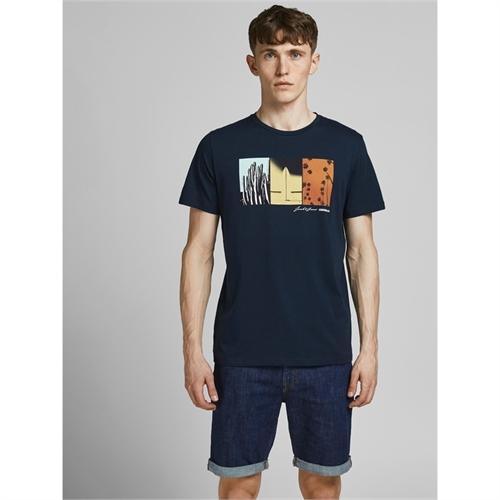 JACK&JONES t-shirt uomo con stampa 12189848_5