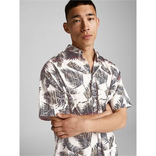 JACK&JONES camicia mezza manica uomo con stampa 2187954