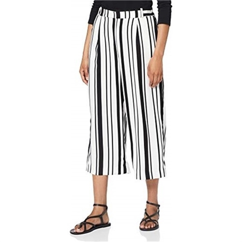 only pantalone culotte donna palazzo cropped