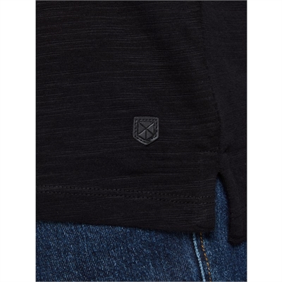 JACK&JONES mezza manica uomo cotone 12187856 nero dettagli