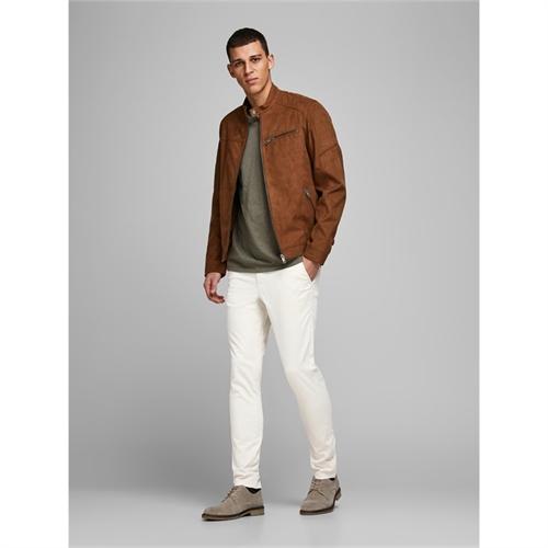 pantalone uomo chino tasca america jack & jones 12165610