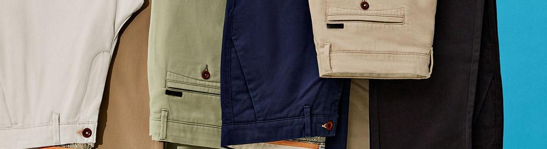 Per avere un look più serio o più elegante bisogna andare oltre al classico paio di jeans che si mette ogni giorno. I pantaloni